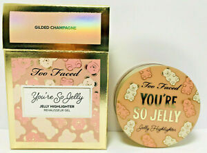 Too Faced You're So Jelly Jelly Highlighter - GILDED CHAMPAGNE - 18mL/0.60fl.oz.