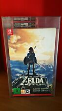 Legend Of Zelda Breath of the Wild Limited Ed. Sealed VGA 90 GOLD MINT