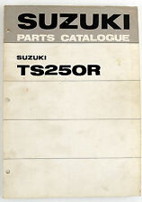 TS250R Suzuki trail/road bike Feb 1971 factory illustrated parts book
