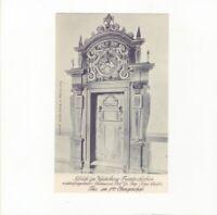 AK Ansichtskarte Heidelberg / Schloss / Tür im Friedrichsbau - 1908