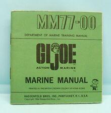 15038 GI - JOE / CATALOGUE MARINE MANUAL MM 77.00 1964 USA