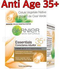Garnier Face Day Cream 50ml. Essentials Anti Age 35+ with Green Tea