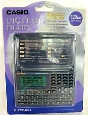 Casio SF-3905Abu-s Digital 128kb Memory Diary New Old Stock Factory Sealed Vtg