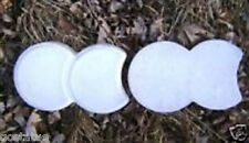 "Plastic edger edging concrete molds set of 2 same molds 9"" x 6"" x 1"" thick"