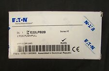 EATON CUTLER HAMMER 2 Pos Push Pull Red Mushroom Push Button Operator E22LPB2B