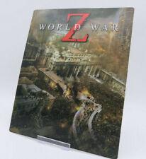 WORLD WAR Z - Lenticular 3D Flip Magnet Cover FOR bluray steelbook