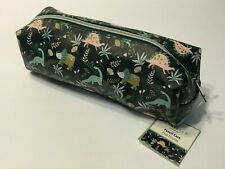 Danielle Creations Cosmetic Pencil Case Art Travel Brush Bag Organizer Dinosaurs