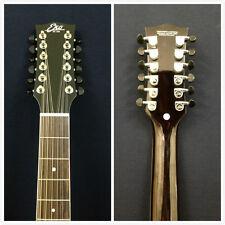 Eko 06217010 NXT Series 12-String Dreadnought Acoustic Guitar, Natural +Free Bag