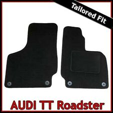 Audi TT Roadster Mk2 2006-2014 Tailored Fitted Carpet Car Floor Mats BLACK