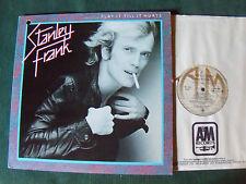 STANLEY FRANK : Play it till it hurts - LP 33T 1980 Canada pressing A&M SP 4828