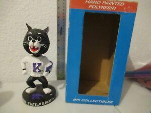 BPI Kansas State Wildcats mascot bobblehead with box
