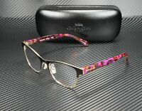 COACH HC5074 9241 St Prpl Gold Prpl Confetti Demo Lens 52 mm Women's Eyeglasses