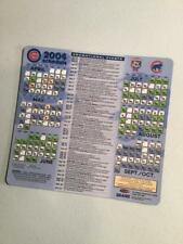 2004 CHICAGO CUBS Magnetic Schedule