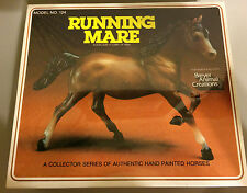 BREYER - Vintage RUNNING MARE Arabian Bay Horse #124 1982 Arab Sealed in Box MIP