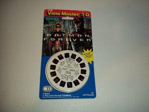 VINTAGE TYCO VIEW MASTER 3-D BATMAN FOREVER 3 REEL SET MOC MIP