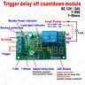 DC 12V 24V Digitial LED Trigger Delay Timing Relay Timer Switch Turn OFF Module