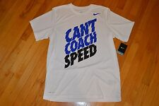Can't Coach Speed Dri-Fit T-Shirt  Color: White  Men's Size: Large (L) NWT