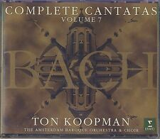 J.S. Bach - Ton Koopman: Complete Cantatas, Vol. 7 (3 CDs, Erato) Like New