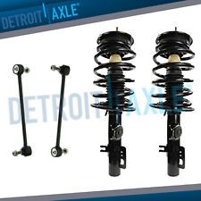 2008-2009 Ford Taurus Pair Front Struts & Front Sway Bar End Links FWD 3.5L