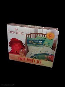 The Loin King Twin Sheet Set