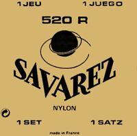 SAVAREZ 520 R - Rot - High Tension - 1 Satz Konzertgitarren-Saiten