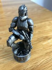 Star Wars Chess Set Piece Plastic Silver Clone Trooper Pawn 8cm 2002 LFL
