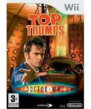 Top Trumps: Doctor Who (Nintendo Wii, 2008) Wii Video Games VCG