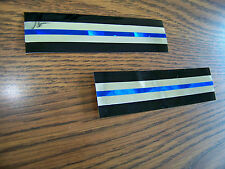 Thin Blue Line Holograph & Chrome Decals- the ultimate Police Decal! Ships FREE