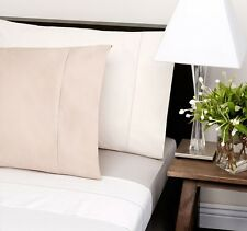 PRIVATE COLLECTION 100% Supima Cotton Sheet Set 600 TC King Size Bed White NEW