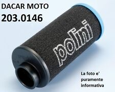 203.0146 AIR FILTER POLINI PIAGGIO : SHARP - EXTREME - EXTREM LC - FILTERS AIR