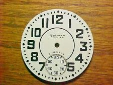 Waltham 16S Premier 21 Jewels Signed Dial