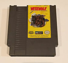 Werewolf: The Last Warrior - 1990 NES Nintendo Video Game Cartridge