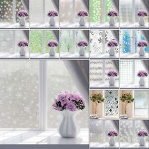 2m Privacy Bedroom Bathroom Home Glass Frosted Window Door Film PVC Sticker
