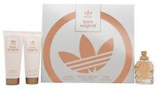 Adidas Born Original for women, Eau de Perfume Spray, Body Lotion and Shower Gel