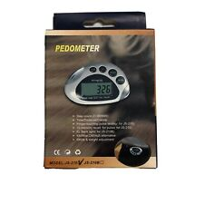Mini LCD Pedometer Walking Run Step Calorie Distance Pulse Calculation Counter