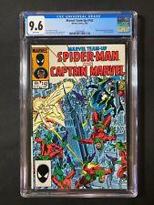 Marvel Team-Up #142 CGC 9.6 (1984) - Spider-Man, Captain Marvel (Monica Rambeau)