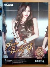 SNSD Girls' Generation/Casio Baby G/K POP/11p.Magazine clippings/Oct.2014