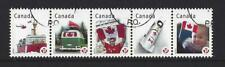 CANADA 2012 CANADIAN PRIDE STRIP OF 5 EX MINIATURE SHEET FINE USED