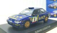 1/64 Kyosho SUBARU LEGACY RS RALLY #8 diecast car model