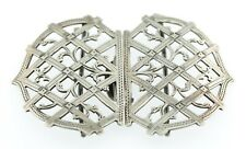 Nurses Solid Silver Hallmarked Belt Buckle