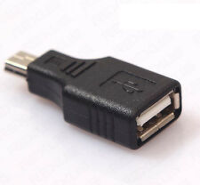 Mini USB-B 5 Pin Male to USB A Female Charger and Data Adapter Converter