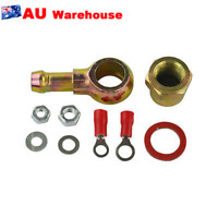 Iron Hose Adaptor Fitting Kit 8Mm Outlet 044 Fuel Pump Banjo M12 Pipe Tail
