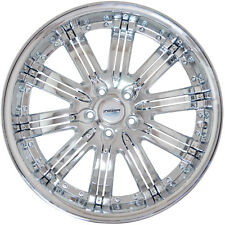 4 GWG Wheels 20 inch Chrome Inserts NARSIS Rims fits LINCOLN TOWNCAR 2003 - 2011