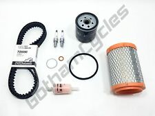 Ducati Hypermotard 796 FULL SERVICE KIT Timing Belts Plugs Air/Fuel/Oil Filters