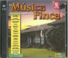 La Musica Que Escuchabamos En La Finca  Latin Music CD