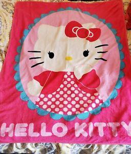 Hello Kitty Blanket Throw pink plush, adorable!