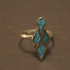 Vintage Bird style Sterling Silver Ring - Size 6.25