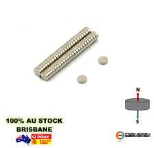 2x 100pk 3mm x 1.5mm N45 Disc Magnets | Neodymium Warhammer Fridge Craft Model