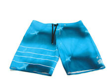 Hurley Men's Size 38 Blue Clark Little Collab Shark Phantom Pocket Boardshorts