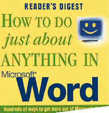 HOW TO DO JUST ABOUT ANYTHING IN MICROSOFT WORD., No author., Used; Very Good Bo